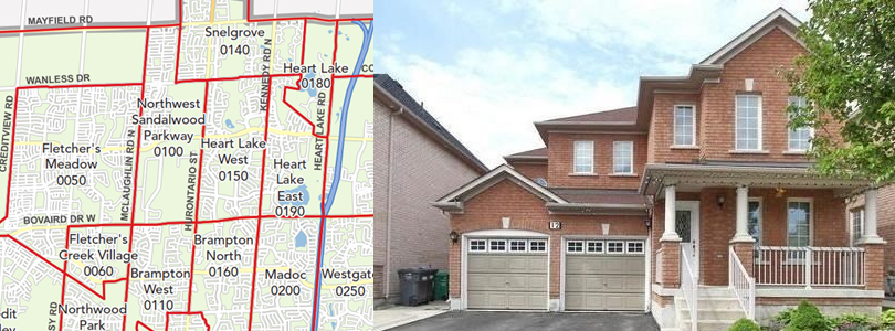 Heart Lake East Brampton Real Estate